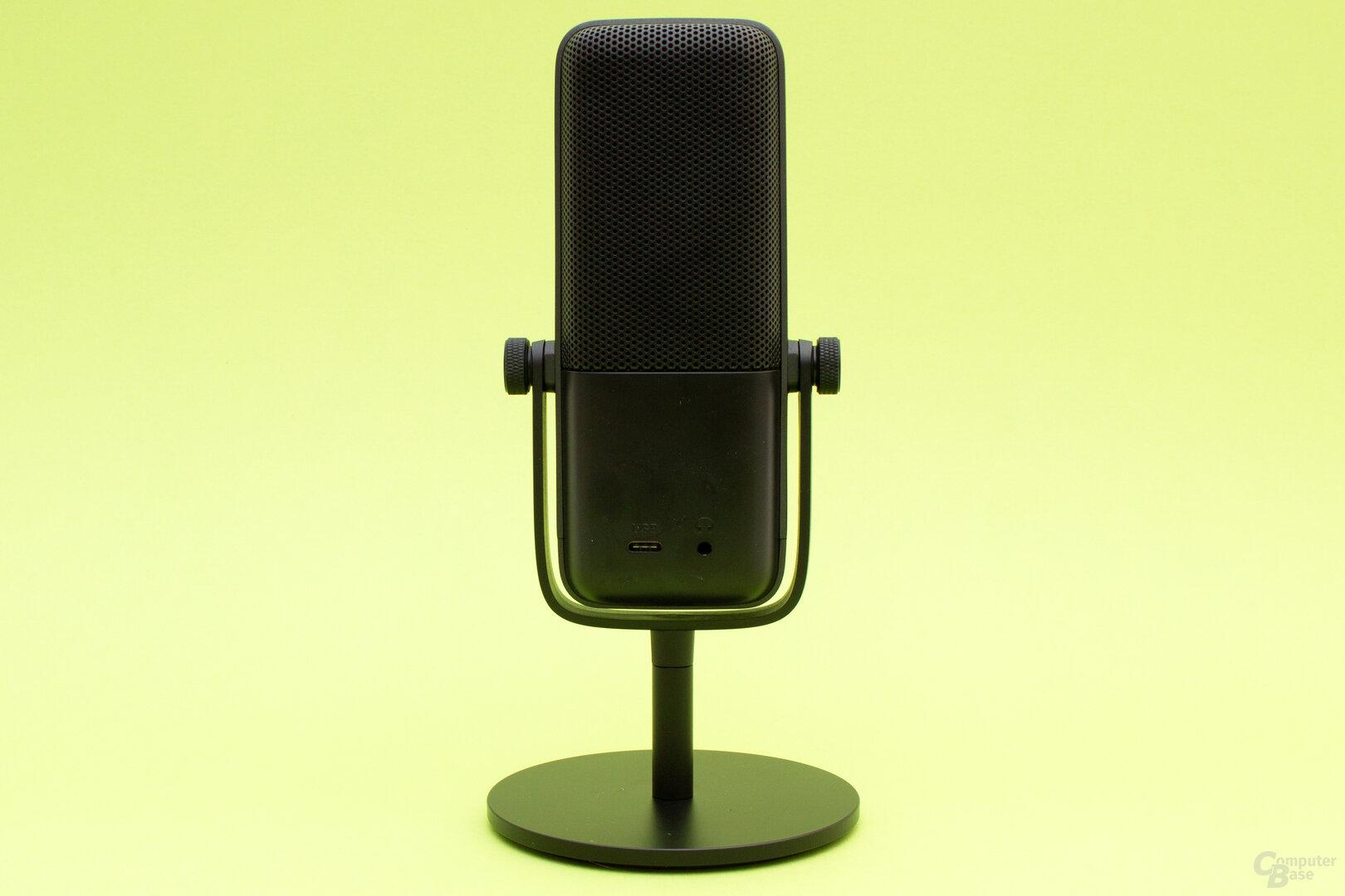 Neben dem USB-C-Anschluss lässt sich beim Wave:3 auch ein Kopfhörer anschließen