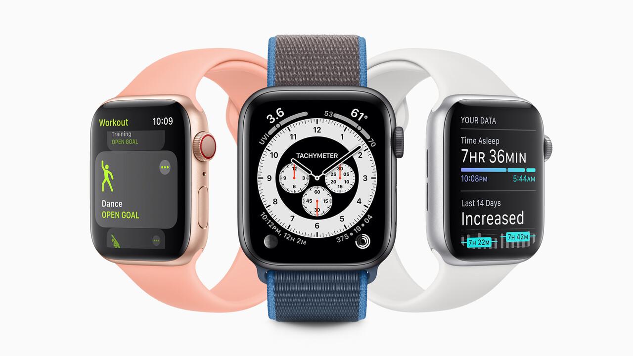 Apple Watch: watchOS 7 überwacht den Schlaf und teilt Zifferblätter