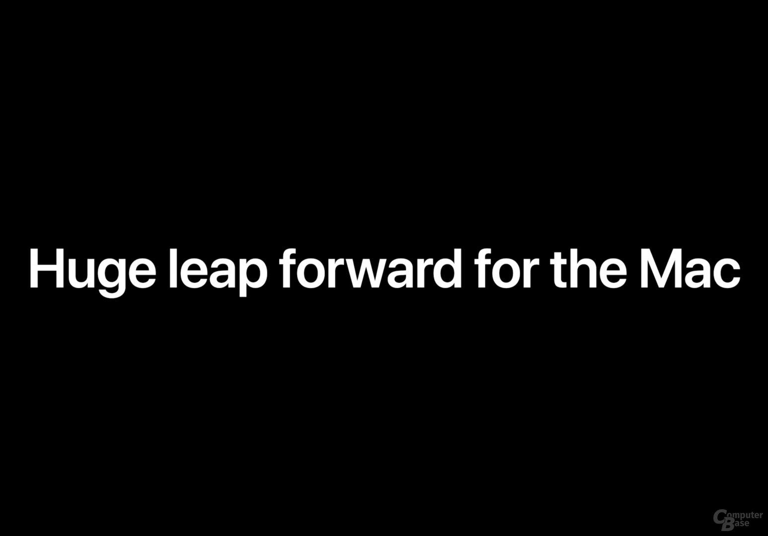 Wechsel zu Apple-SoCs
