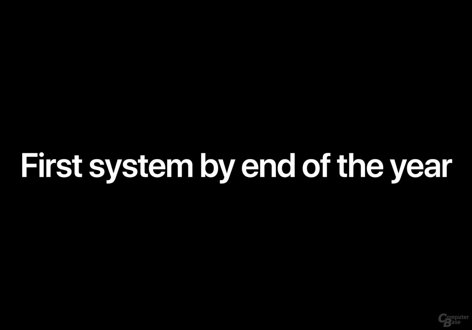 Erstes Mac mit Apple-SoC noch 2020