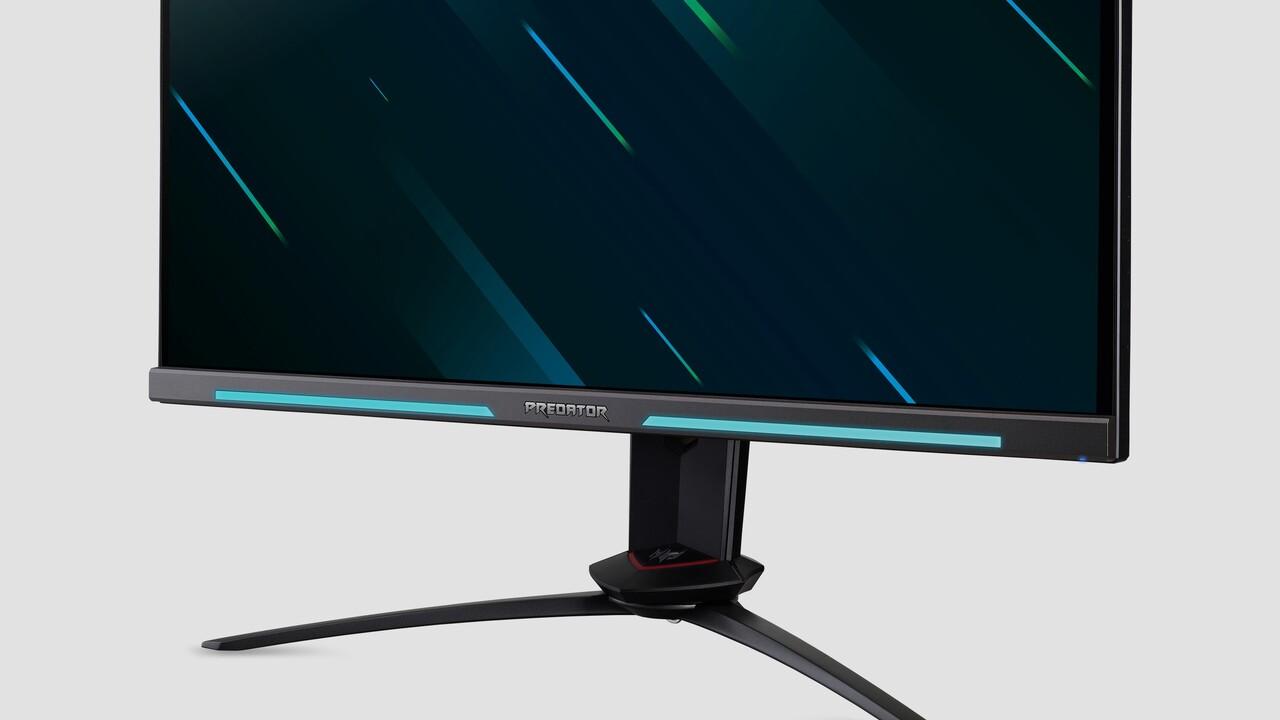 Predator-Monitore: Acer setzt auf 360Hz und 4K bei 144Hz auf 32Zoll
