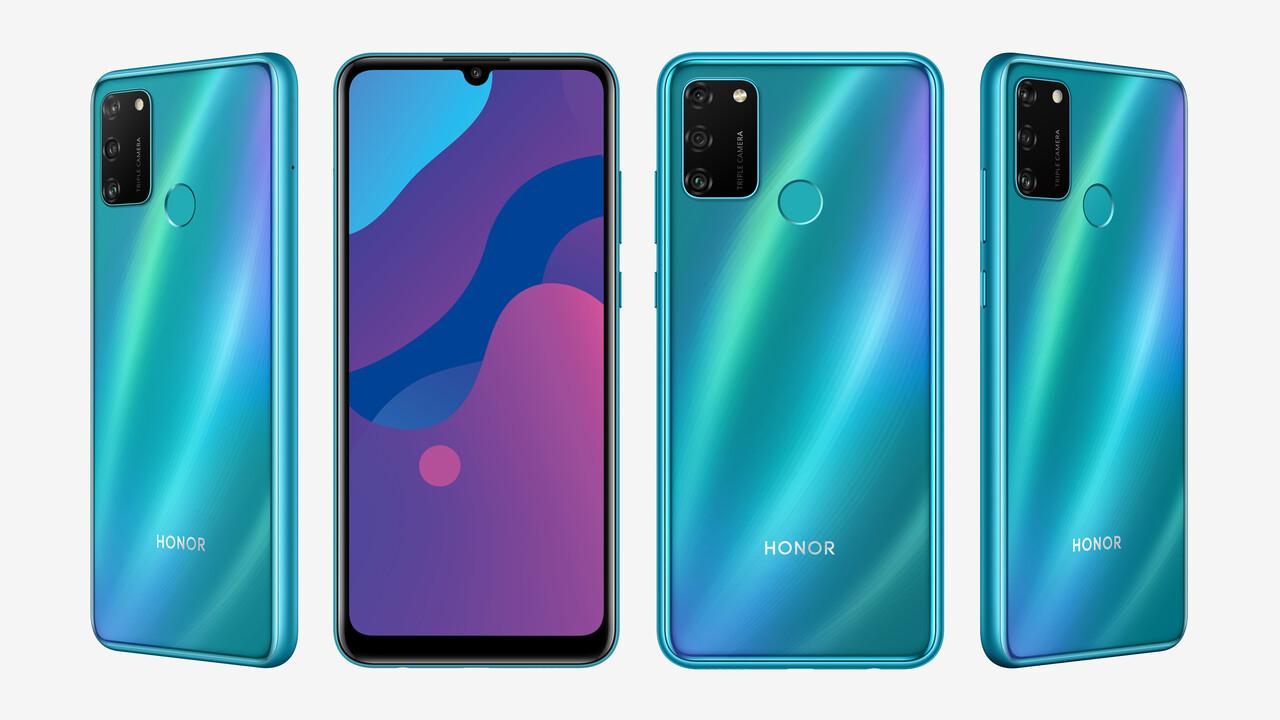 Honor 9A: 150-Euro-Smartphone kommt mit 5.000mAh und 64GB