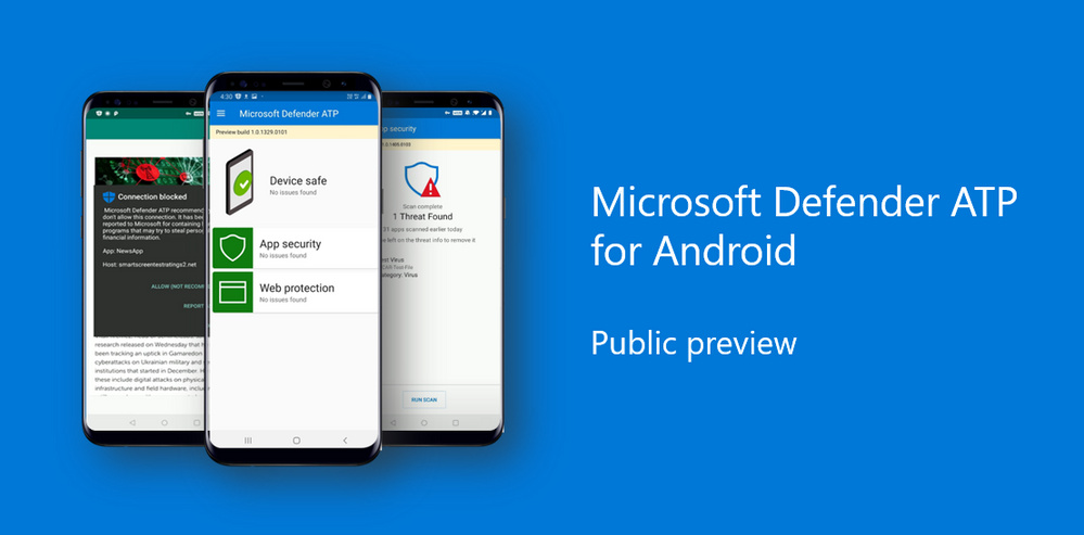 Die Microsoft Defender ATP als Android-Testversion