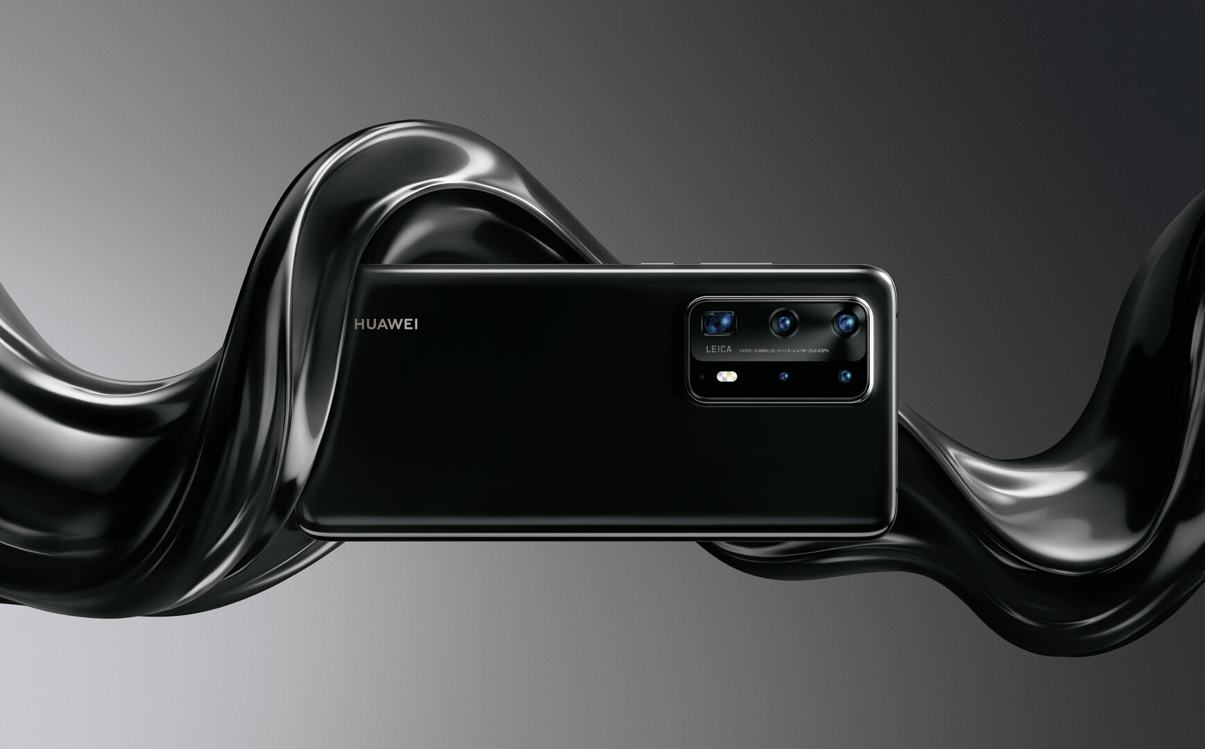 Huawei P40 Pro+ in Schwarz