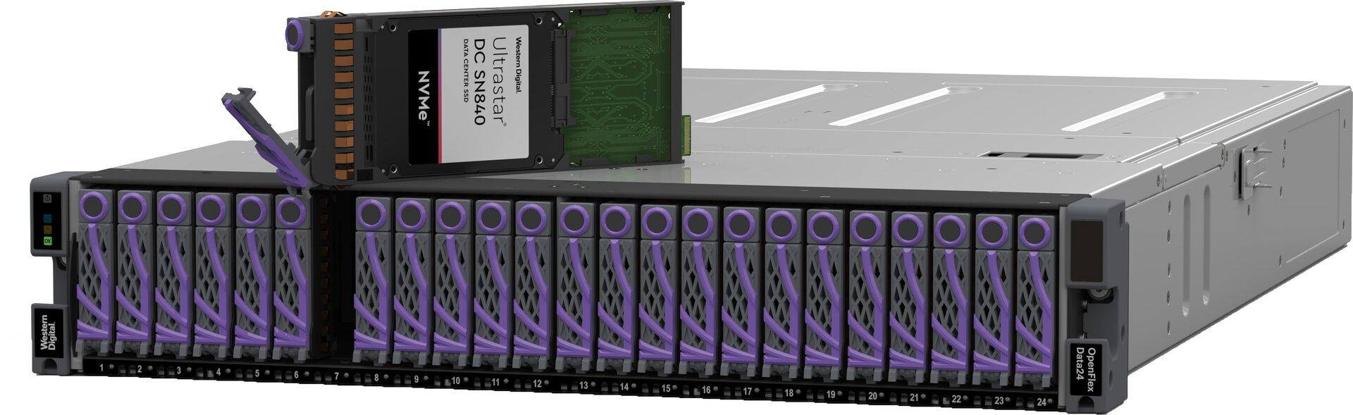 OpenFlex Data24 NVMe-oF-Plattform