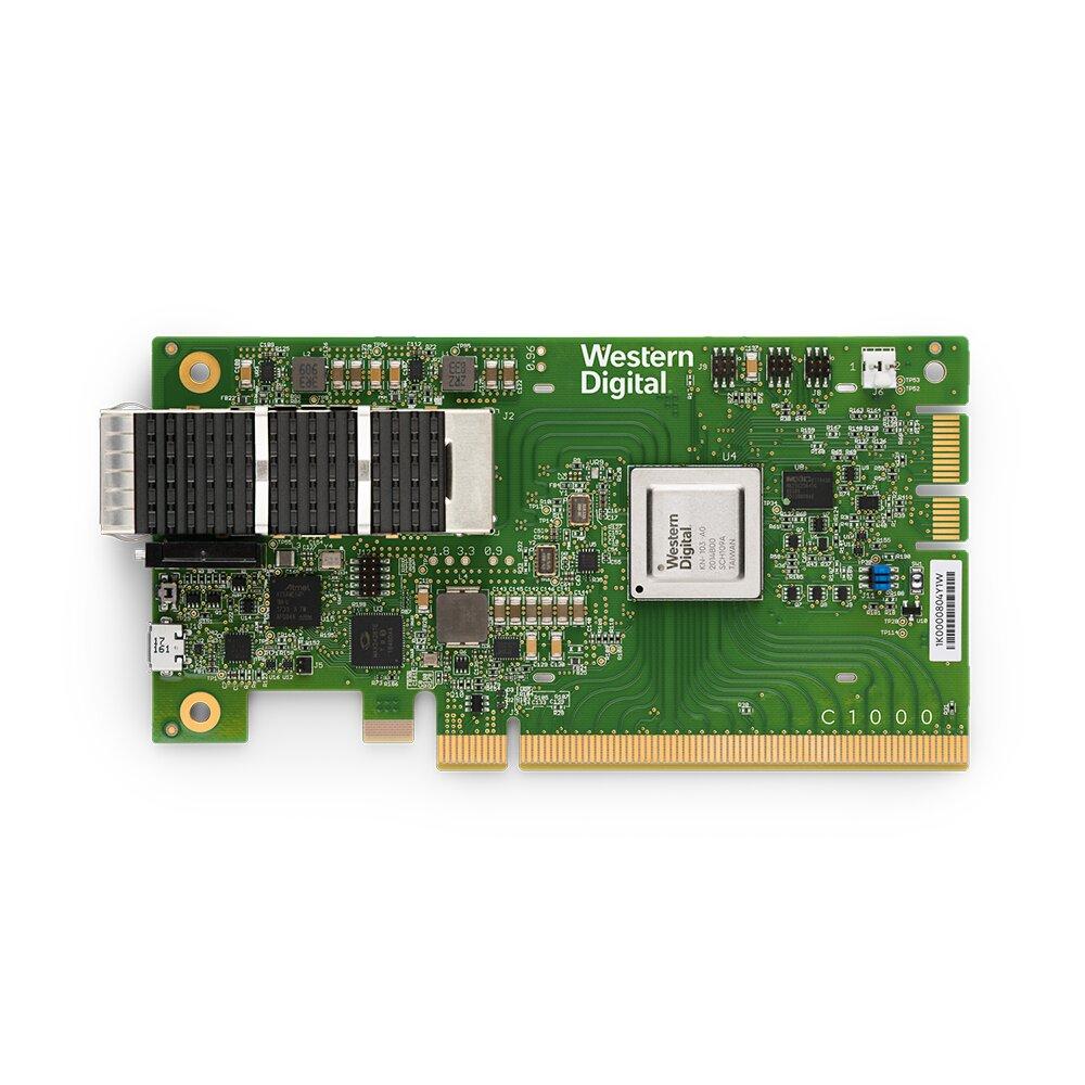 RapidFlex C1000 NVMe-oF-Controller-Karte