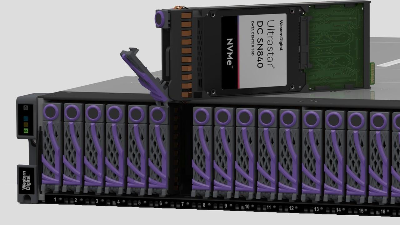 Western Digital: NVMe-oF-Speicherplattform für 13 Millionen IOPS