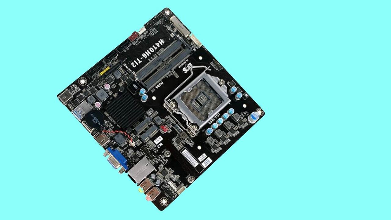 Thin-Mini-ITX-Mainboard: ECS H410H6-TI2 als flache Comet-Lake-S-Basis für OEMs