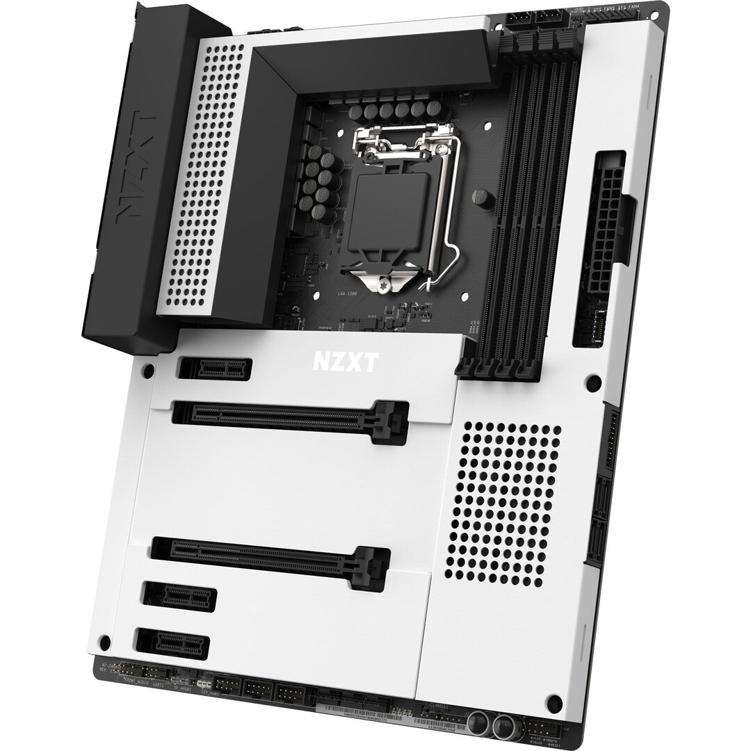 NZXT N7 Z490 - Weiß