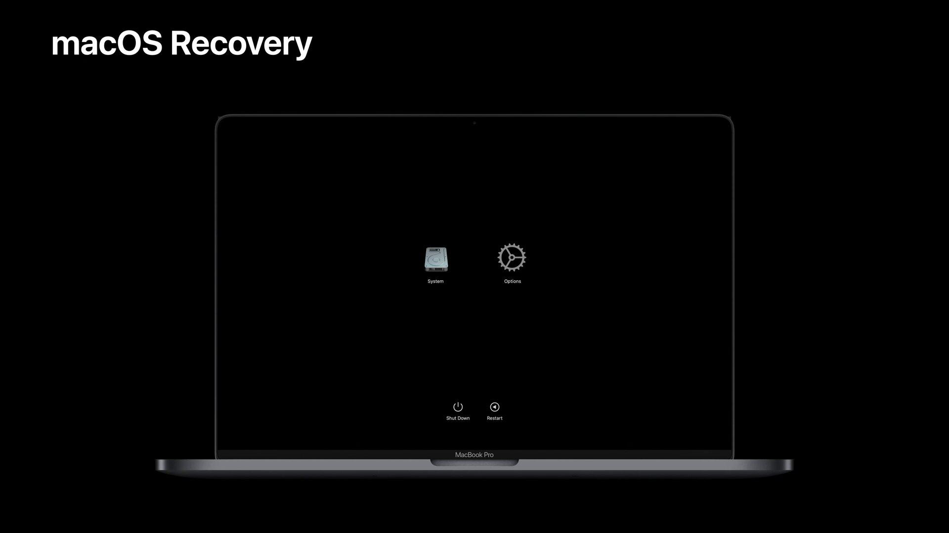 Das neue macOS Recovery