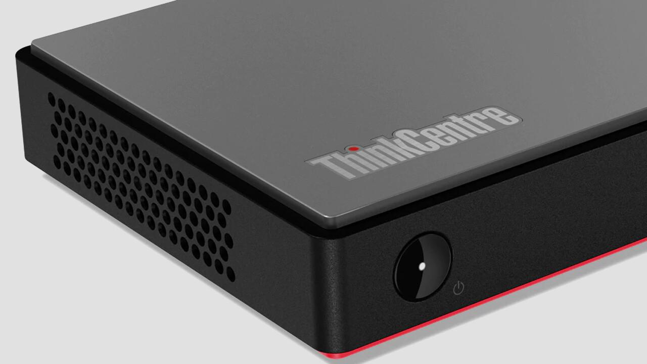 ThinkCentre M75n: Lenovo bringt Ryzen Pro im Mini-PC mit 0,35Litern unter