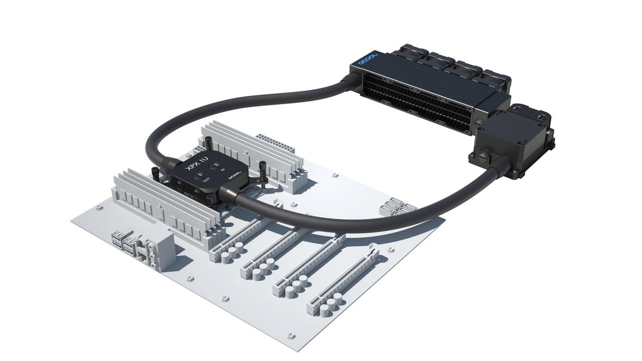 Alphacool: AIO-Wasserkühlungssets kühlen Server