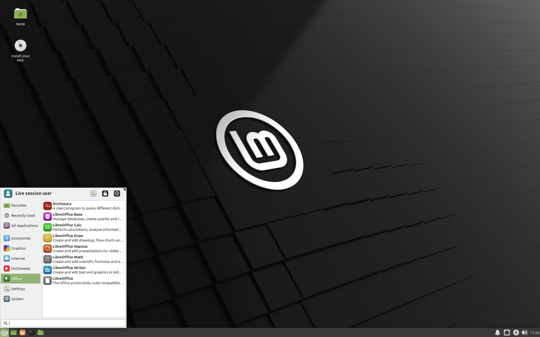 Linux Mint 20 Xfce-Edition