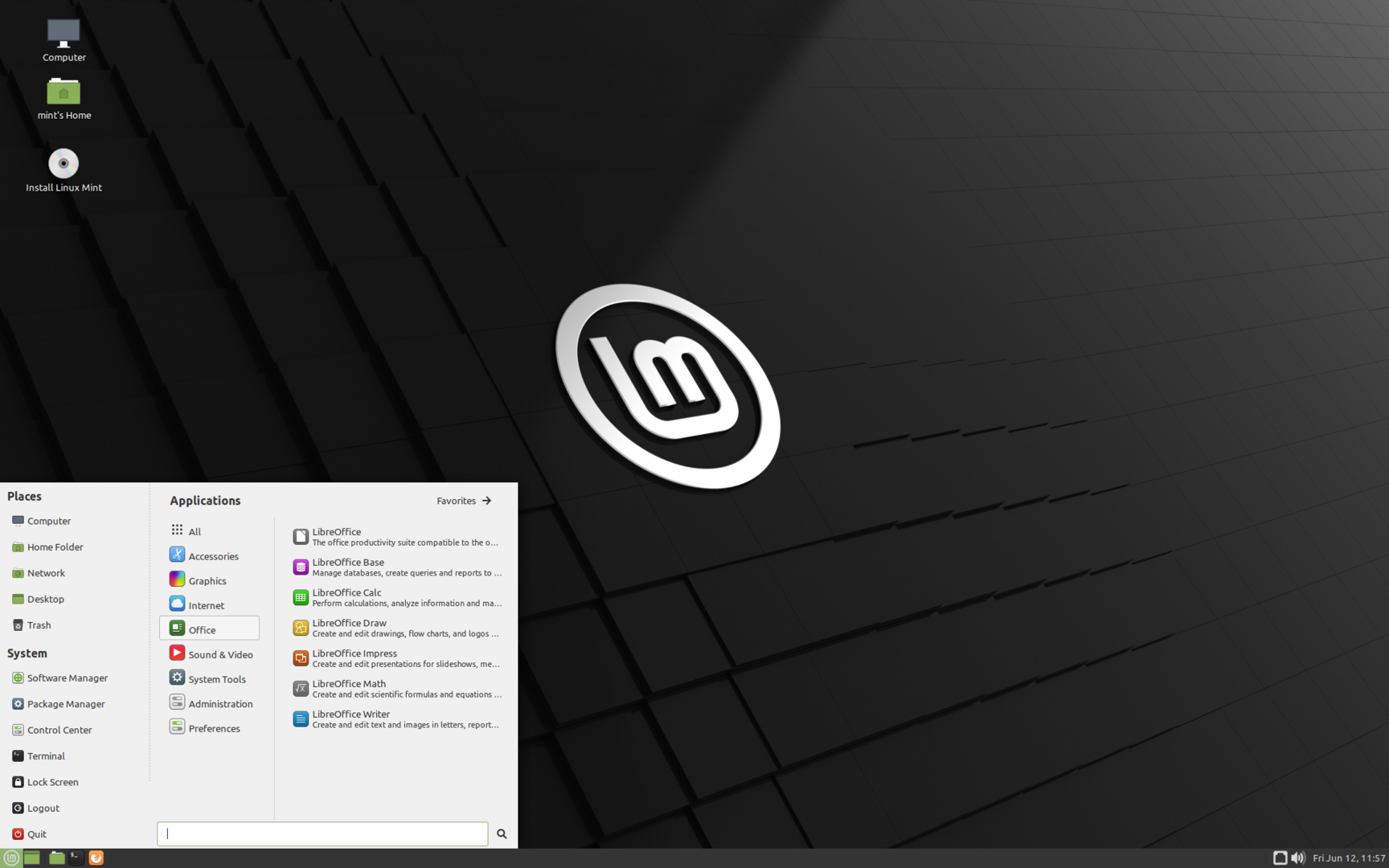 Linux Mint 20 MATE-Edition