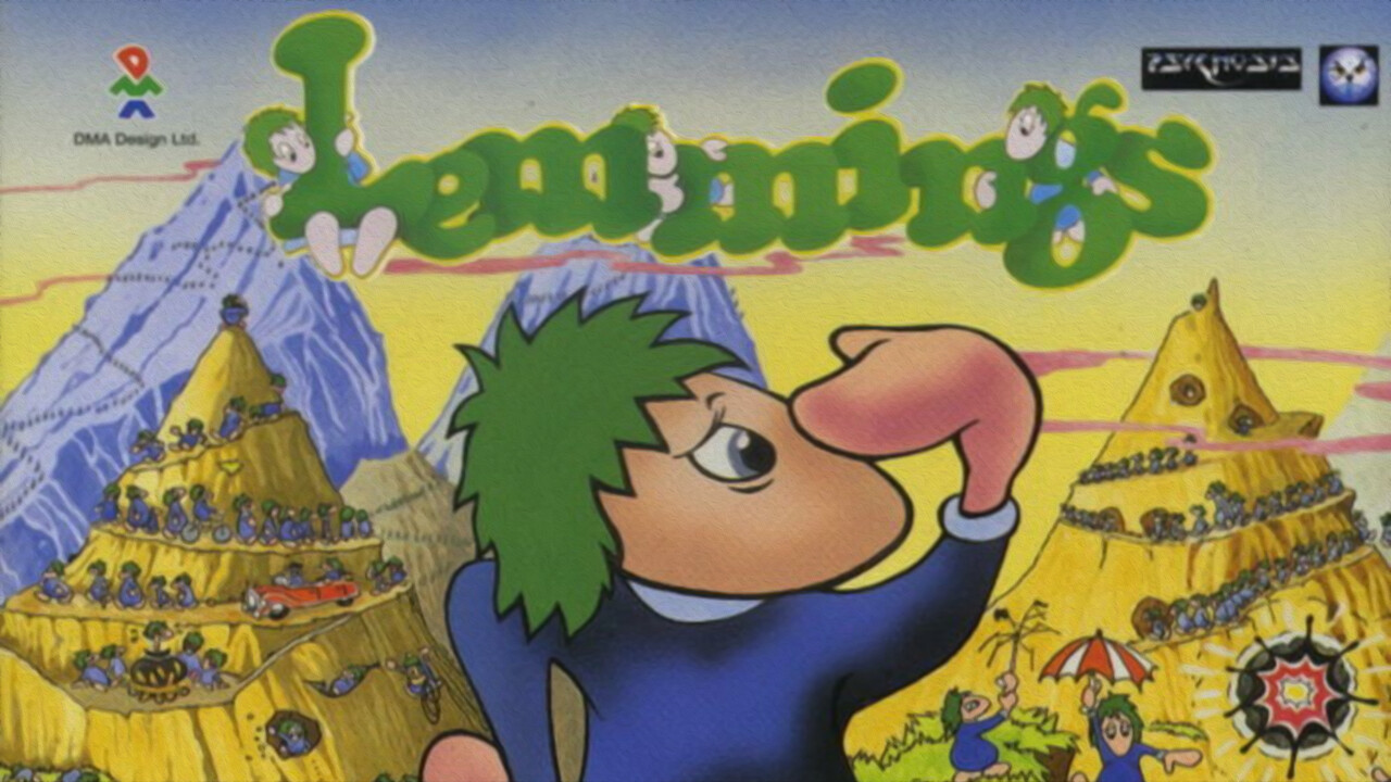 C:\B_retro\Ausgabe_36\: Lemmings