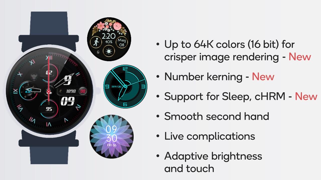 Snapdragon Wear 4100+: Sparsameres SoC für mehr Leistung & schönere Displays