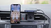 Amazon Echo Auto im Test: Alexa-Sprachsteuerung im Auto mit Kabelsalat