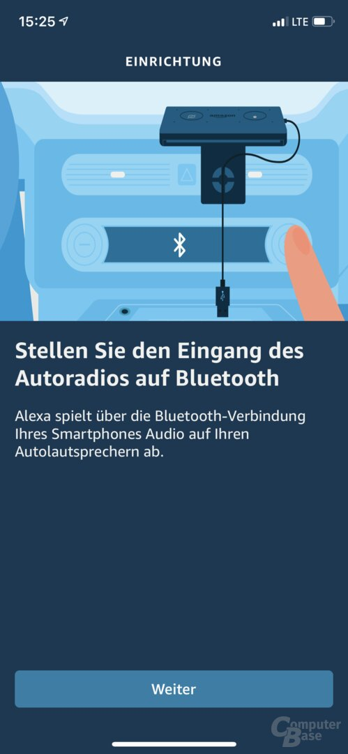 Amazon Echo Auto in der Alexa-App