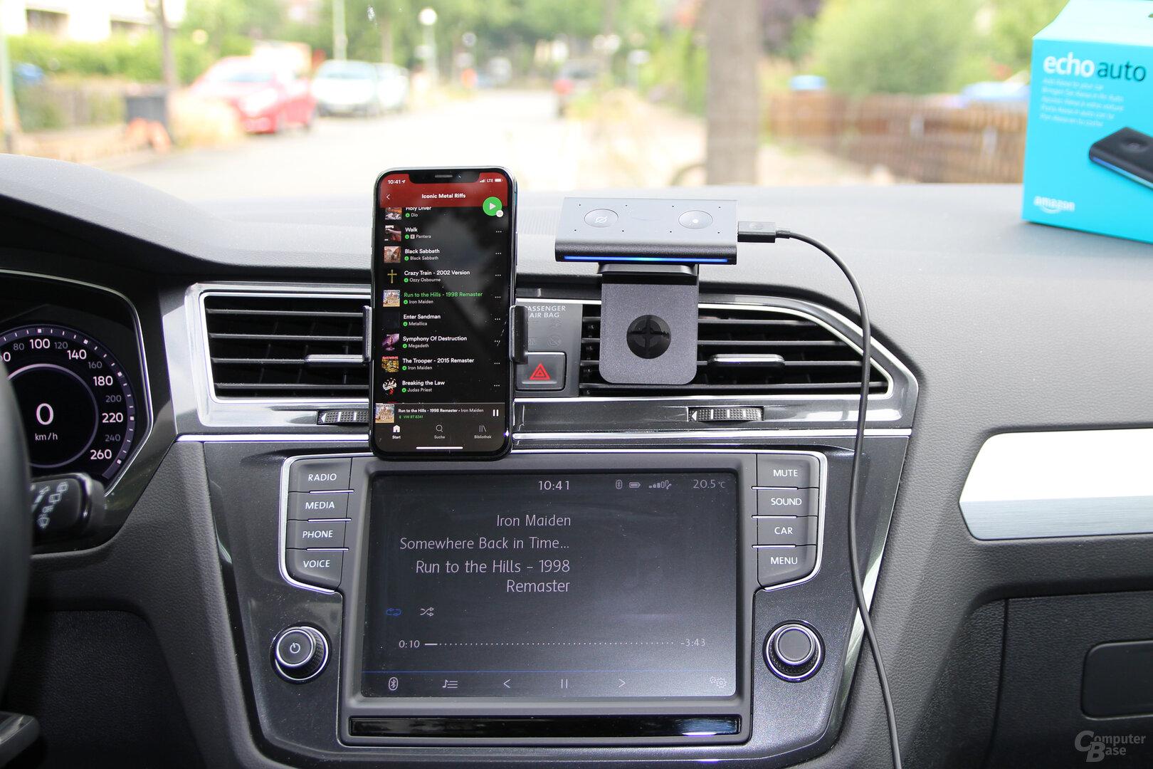 Amazon Echo Auto: Von Alexa ans Smartphone ans Auto
