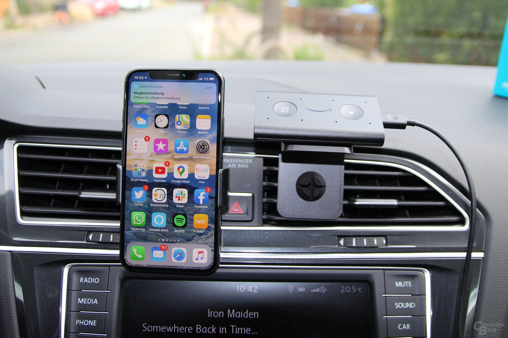 Amazon Echo Auto: Navigation unter iOS nur mit Freigabe