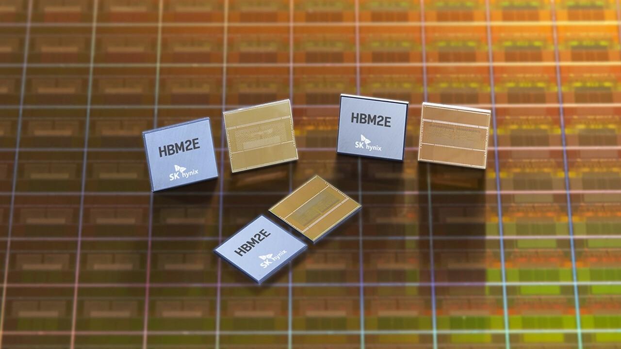 460GB/s pro Stapel: SK Hynix fertigt HBM2E-Speicher jetzt in Serie