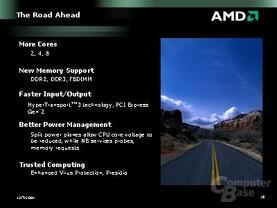 AMDs Produktpläne