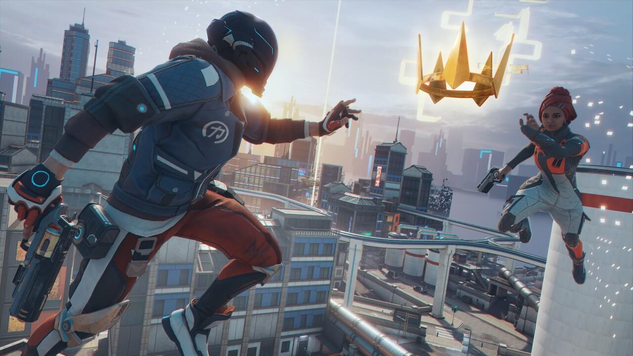 Battle-Royale-Shooter: Hyper Scape ist vertikal, flexibel und nutzt Twitch