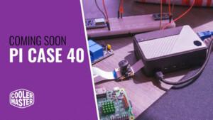 Cooler Master Pi Case 40: Portables Alu-Gehäuse kühlt den Raspberry Pi passiv