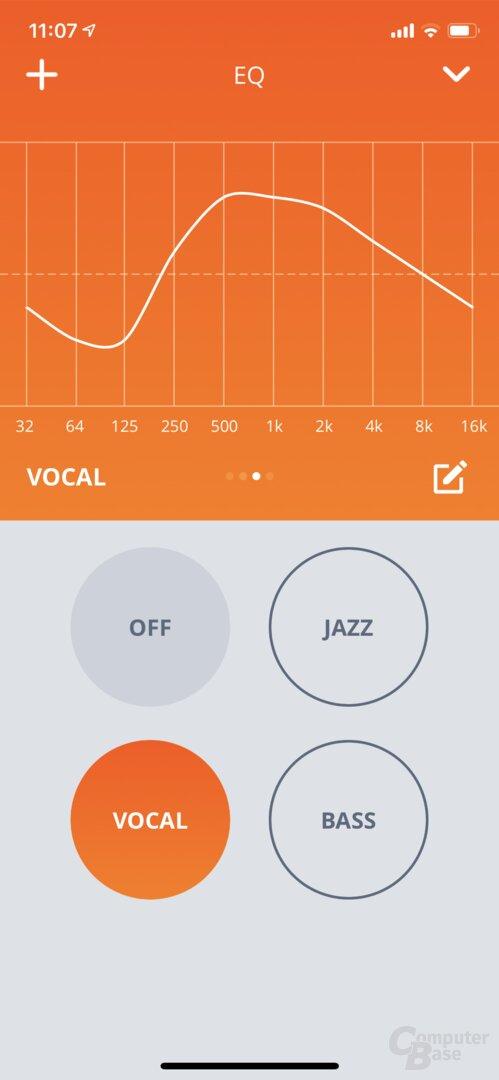 JBL My Headphones App mit JBL Live 300TWS