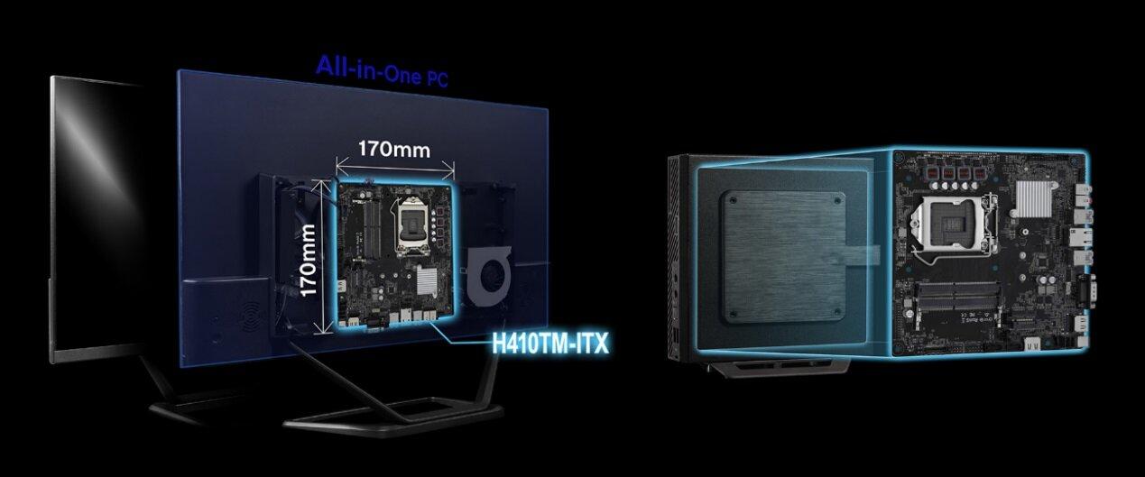 ASRock B460TM-ITX und H410TM-ITX
