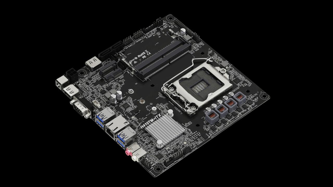 B460TM-ITX und H410TM-ITX: ASRocks Thin-Mini-ITX für Comet Lake-S mit 65 Watt