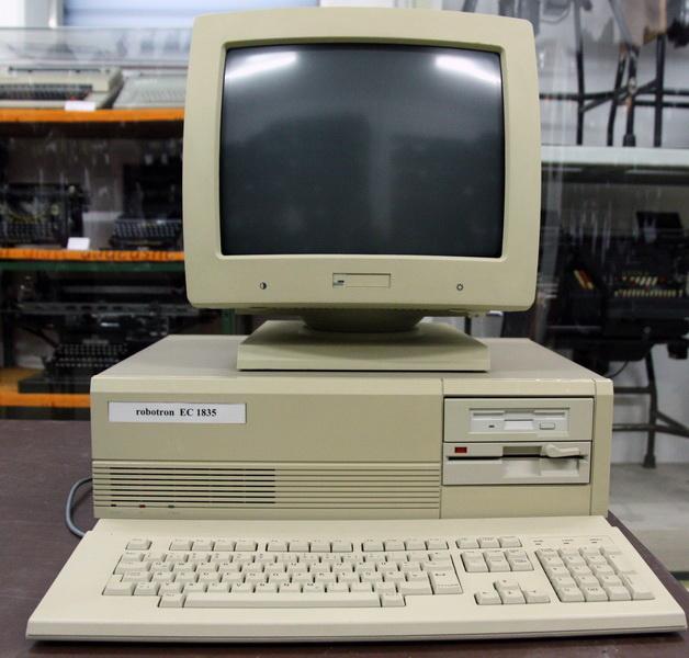 Der Robotron EC 1835 hatte den IBM PC/AT zum Vorbild
