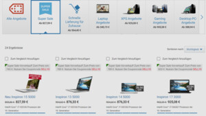 Super Sale: Dell rabattiert Monitore, Notebooks und Peripherie