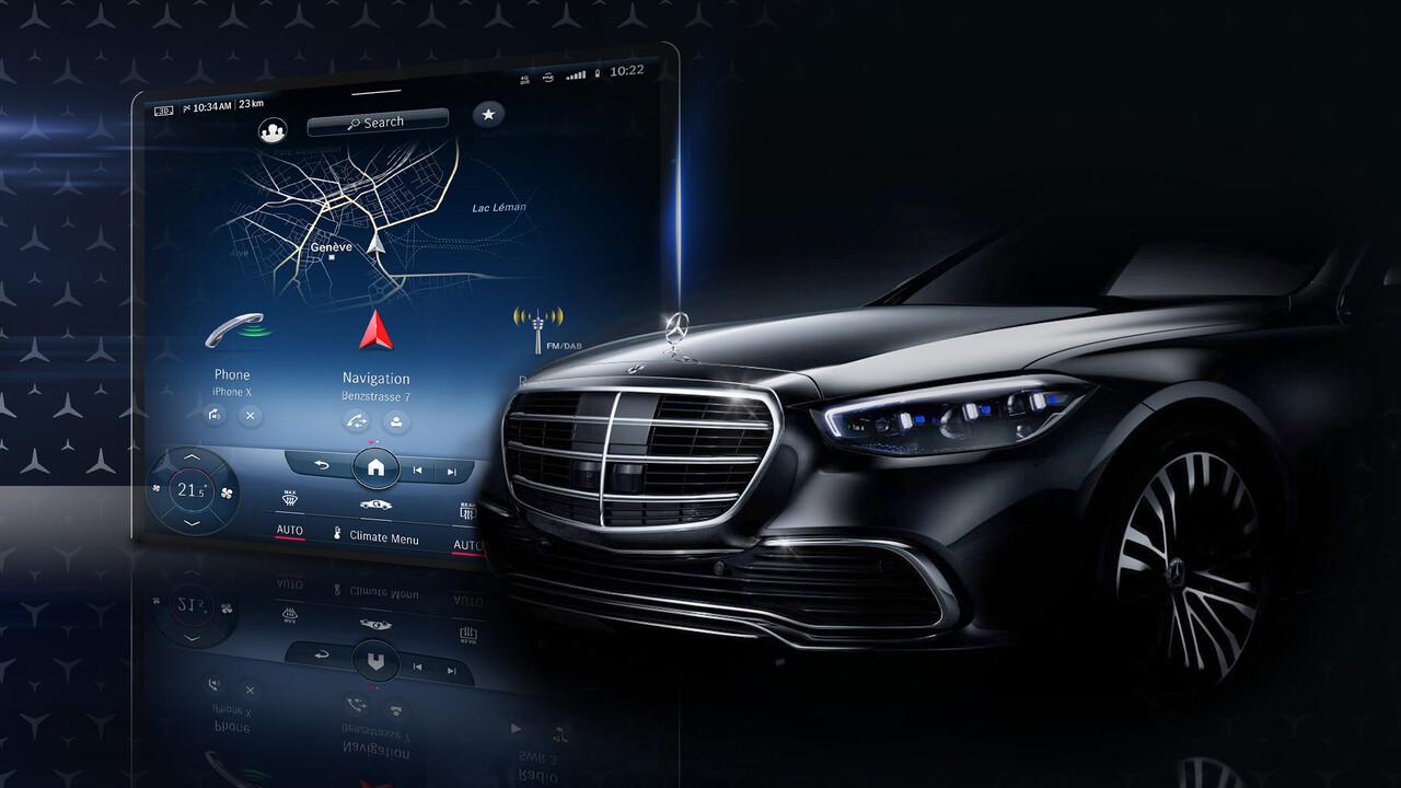 Mercedes-Benz: Neue S-Klasse kommt mit großem MBUX-Display ...