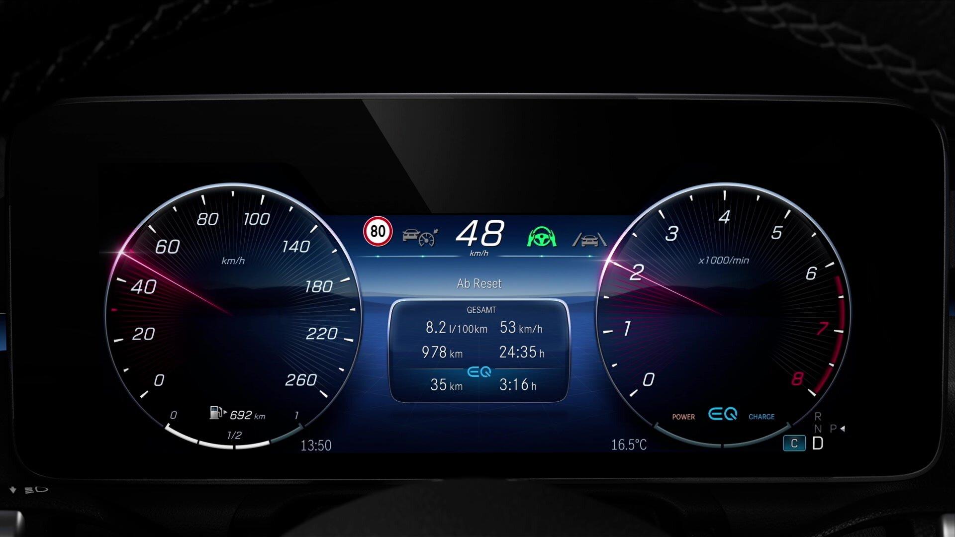 Das 3D-Fahrer-Display mit Autostereoskopie