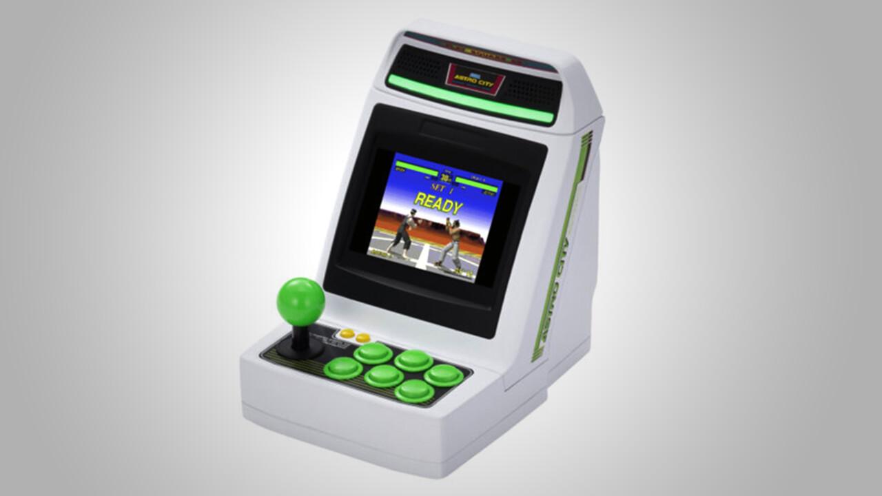 Sega Astro City Mini: Mini-Arcade-Automat mit 36 Retro-Klassikern
