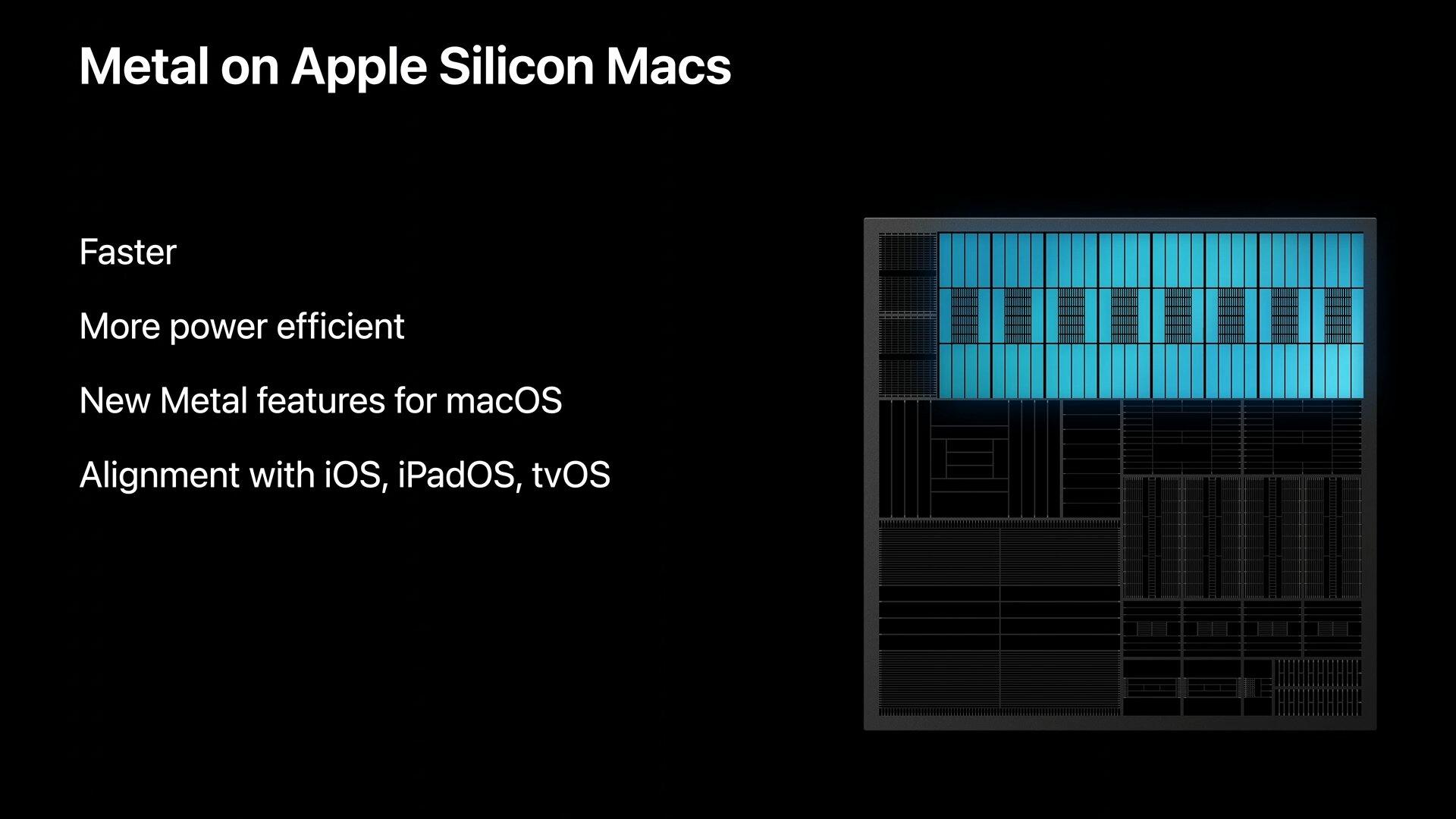 Apple-GPUs sollen schneller und energieeffizienter sein