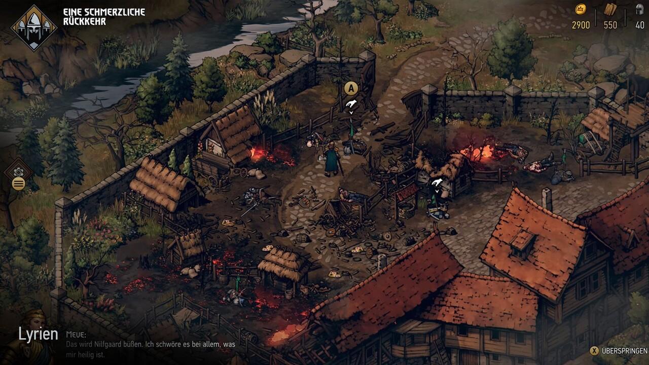 Thronebreaker: Witcher-RPG ist fortan als iOS-App verfügbar