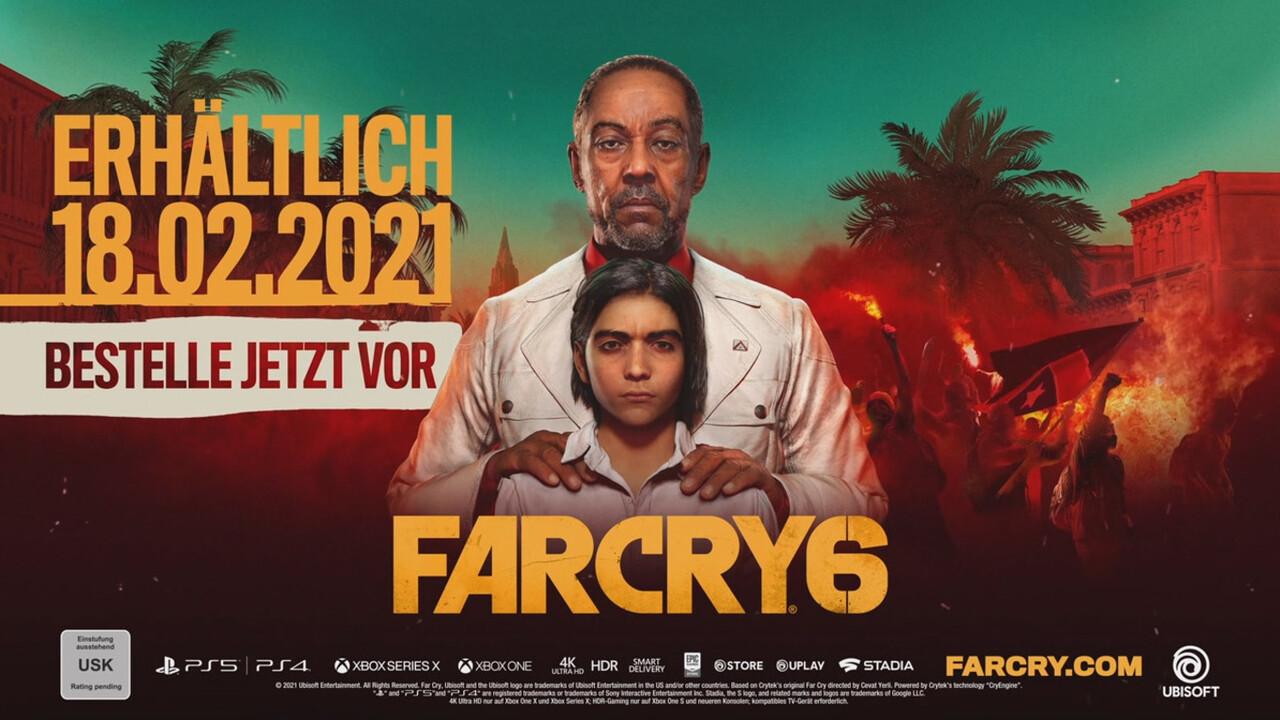 Ubisoft: Far Cry 6 erscheint am 18. Februar 2021