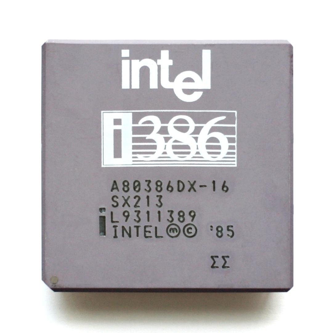 Intel i386 DX mit 16 MHz