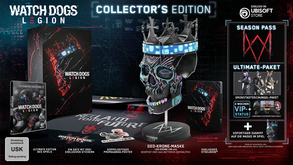 """Watch Dogs: Legion – """"Collector's Edition"""""""