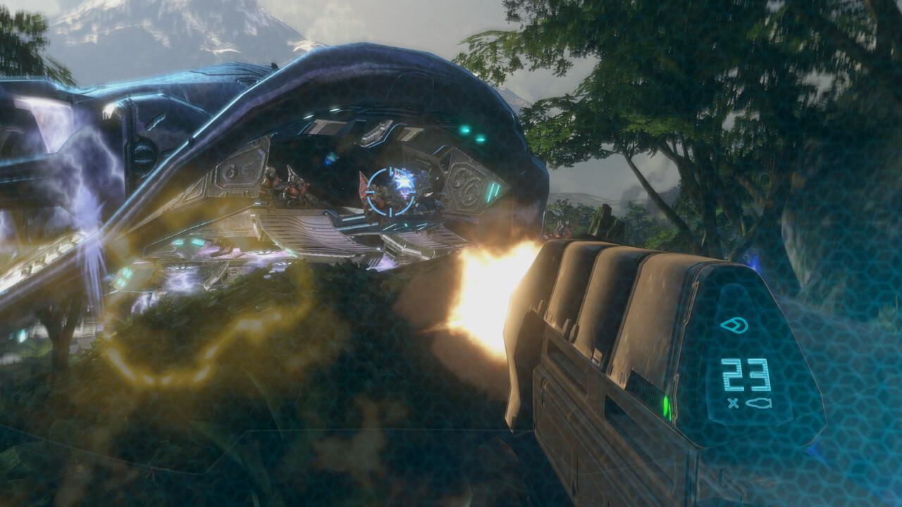 Halo 3 im Test: Spaßige PC-Premiere mit winzigem Technik-Upgrade