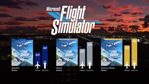 Microsoft: Flight Simulator 2020 hebt am 18. August in drei Versionen ab