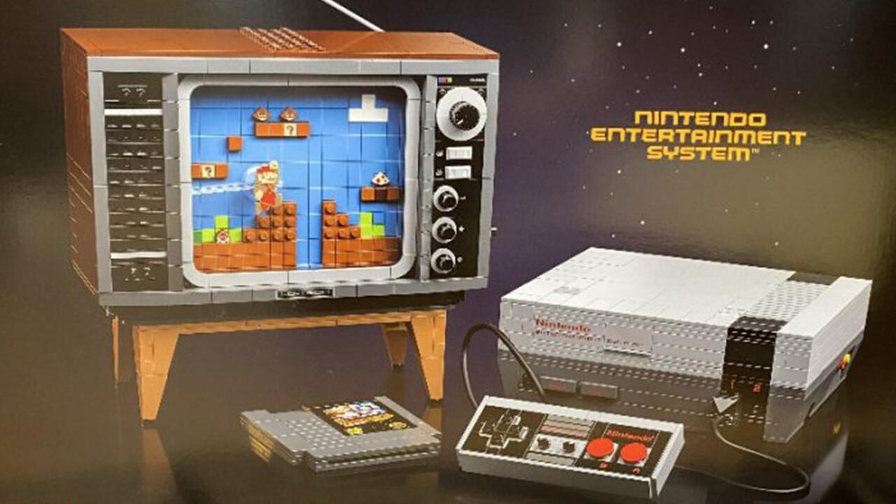 Nintendo: Lego bringt NES-Bausatz mit 2.646 Steinen