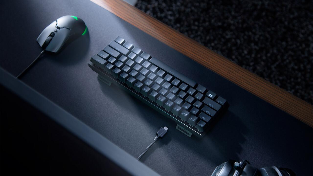 Razer Huntsman Mini: 60 % mit optischen Schaltern, PBT-Kappen und USB-Type-C