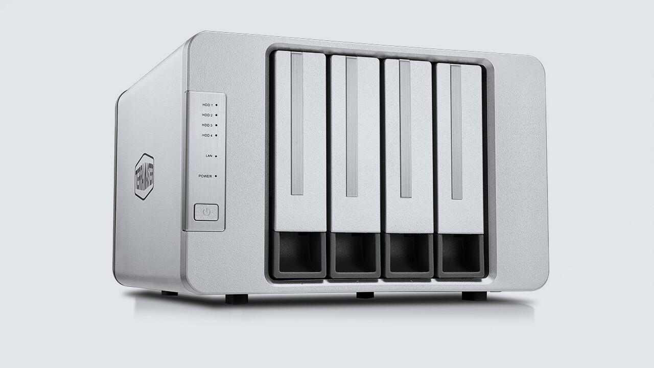 TerraMaster F4-422: 4-Bay-NAS mit 10-Gbit-LAN für KMUs und Prosumer