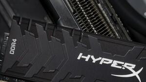 Fury (RGB) und Predator (RGB): HyperX-RAM fortan als 256-GB-Kit und mit 4.800MHz