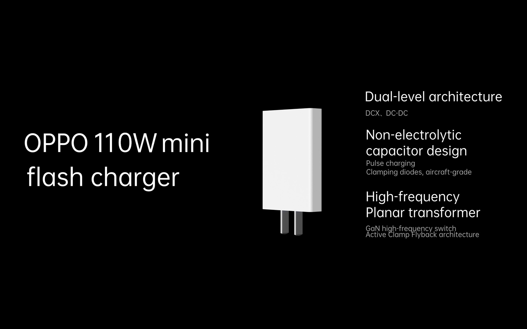 Oppo 110W min Flash Charger