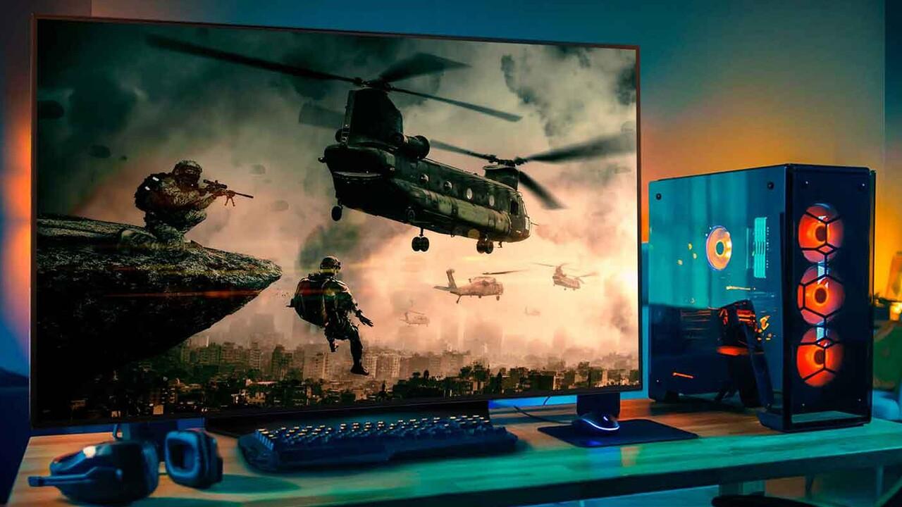 Wochenrück- und Ausblick: OLED als Gaming-Monitor und Death Stranding mit DLSS