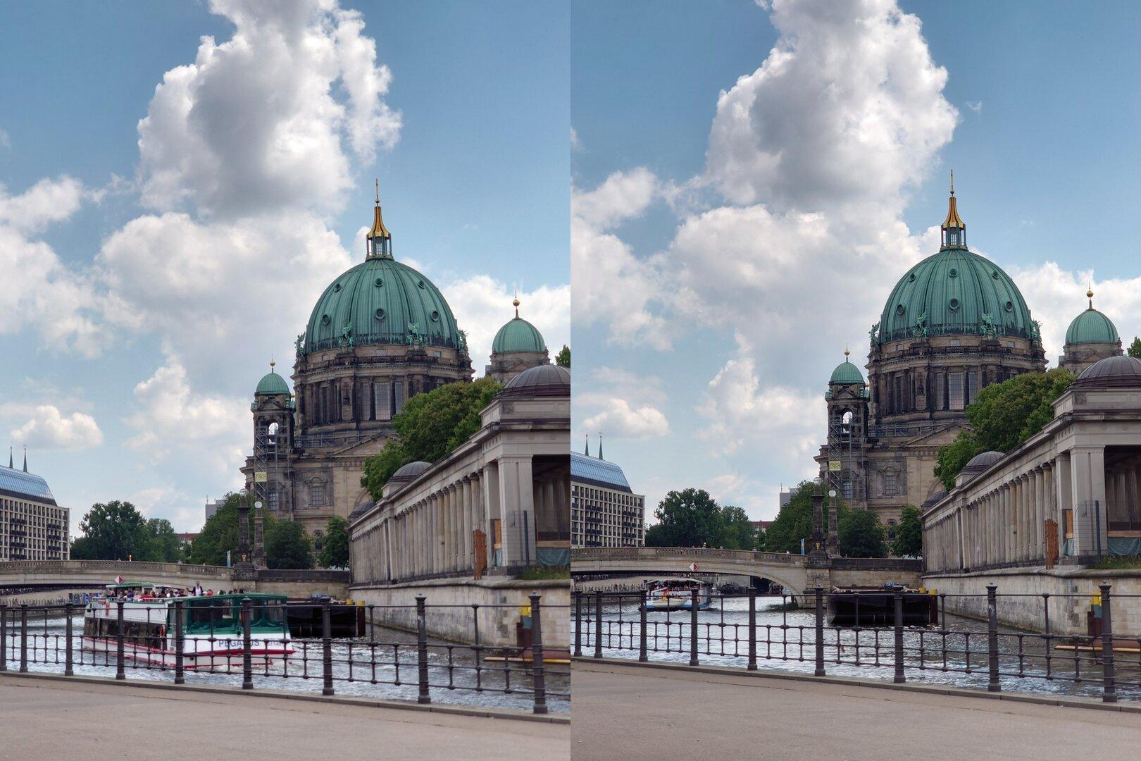 Photo-Pro-App (l.) vs. Standard-App (r.) – Tele